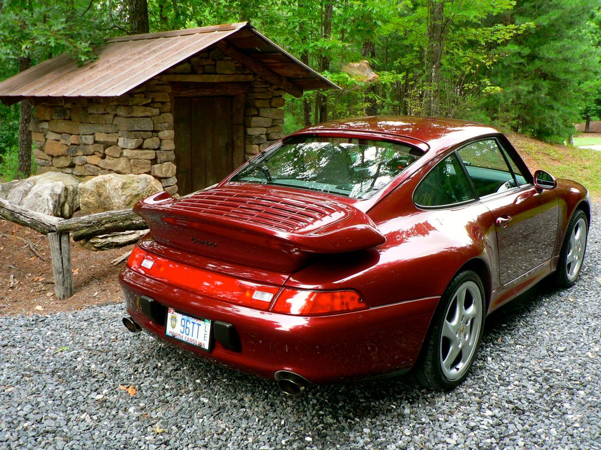 1996 Porsche 993 Turbo Arena Red