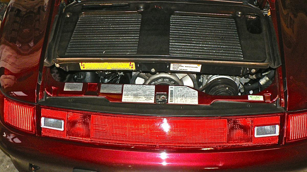 1996 Porsche 993 Turbo - Arena Red