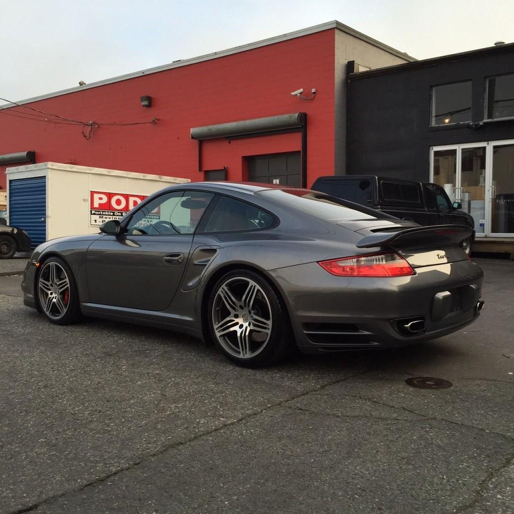 2007 Porsche 997 Turbo Grey