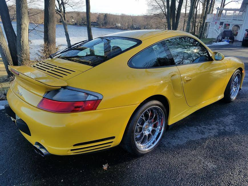 2002 Porsche 996 Turbo In Speed Yellow